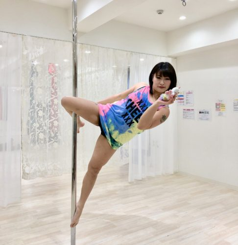 Pole dance & Kid's pole / PON先生